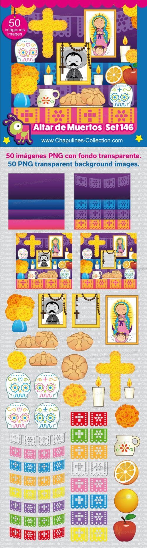small resolution of clipart altar for the dead altar de muertos day of the dead d a de muertos png images set 146