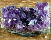 Purple Amethyst, Amethyst Crystal Cluster, Amethyst February Birthday ~1728