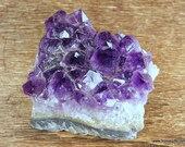 Purple Amethyst Cluster Amethyst Energy, Crystal for Stress and Psychic Abilities ~1738