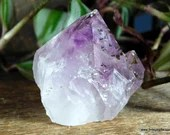 Polished Amethyst Crystal Cluster, Raw Amethyst February Birthday ~1909