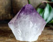 Amethyst Point Crystal Tower, Stress Relief Crystal, Purple Amethyst Crystal~1895