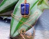 Lapis Lazuli Goddess Neck...