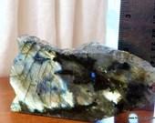 Golden Labradorite Crysta...