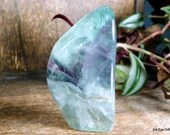 Free Form Fluorite Crystal Tower, Rainbow Fluorite ~1931