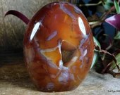 Agate Free Form Carnelian Crystal ~1944
