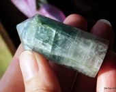 Rainbow Fluorite Tower, Green Fluorite Crystal Point ~2064