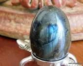 Blue Labradorite Egg, Lab...