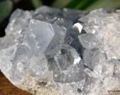 Celestite Cluster, Celestite Geode, Celestite Crystal Cluster, Crown Chakra crystal, Calming Crystal, Crystal for Prophetic Dreams ~2143