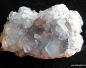 Celestite Crystal Cluster...
