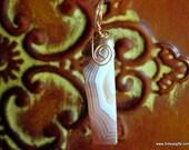 Agate Pendant and Pendulu...