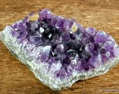 Purple Amethyst Crystal Cluster, Amethyst February Birthday ~1723