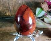 Carnelian Egg, Carnelian Crystal, Carnelian Massage Wand, Stone for Sacral Chakra, Agate Carnelian, Clear Sacral Chakra  ~1956