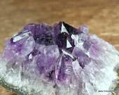 Purple Amethyst Druzy Crystal, Amethyst Crystal ~1736