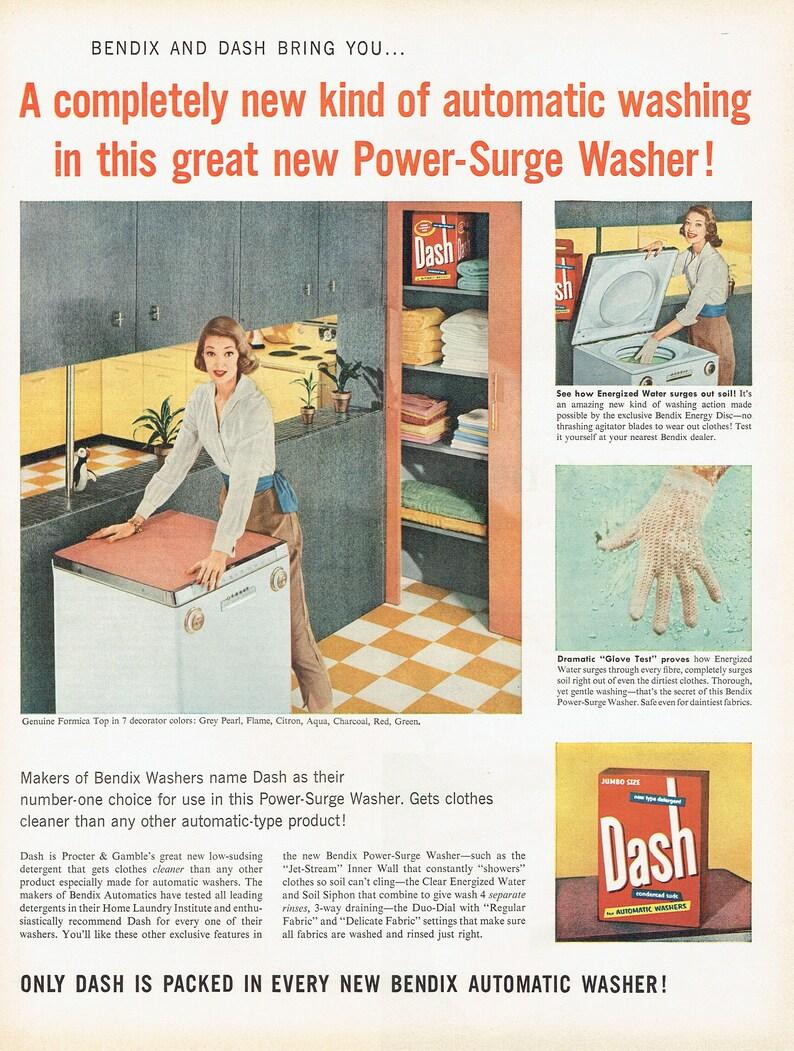 dash detergent 1956 dash