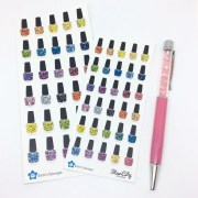 nail polish stickers appointment