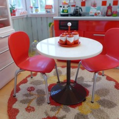 Retro Red Kitchen Table And Chairs Top 10 Etsy
