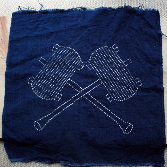 Sashiko Fabric / Japanese...