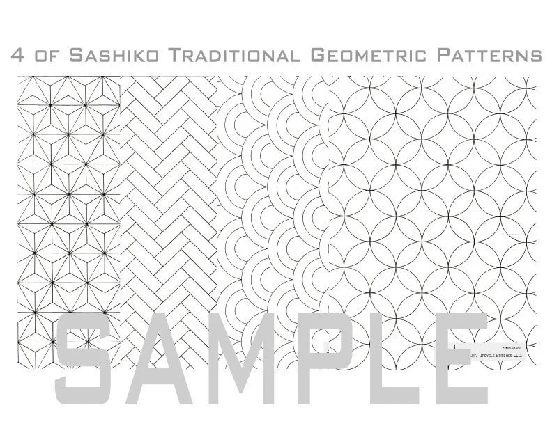 Traditional Style Geometric Pattern Names