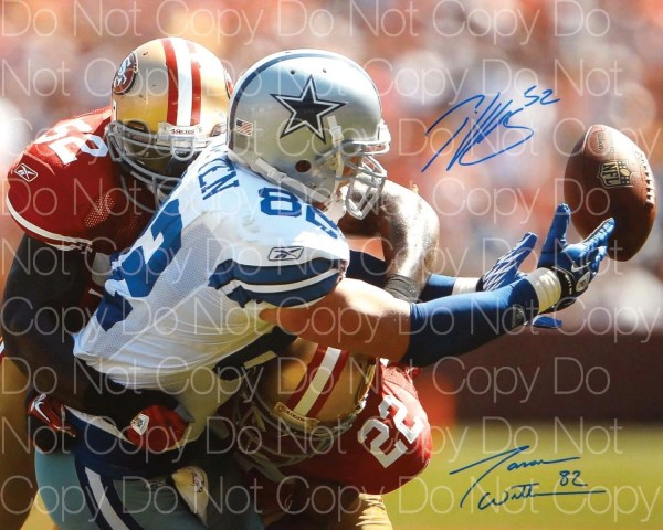 Patrick Willis Jason Witten Signed 8x10 Poster