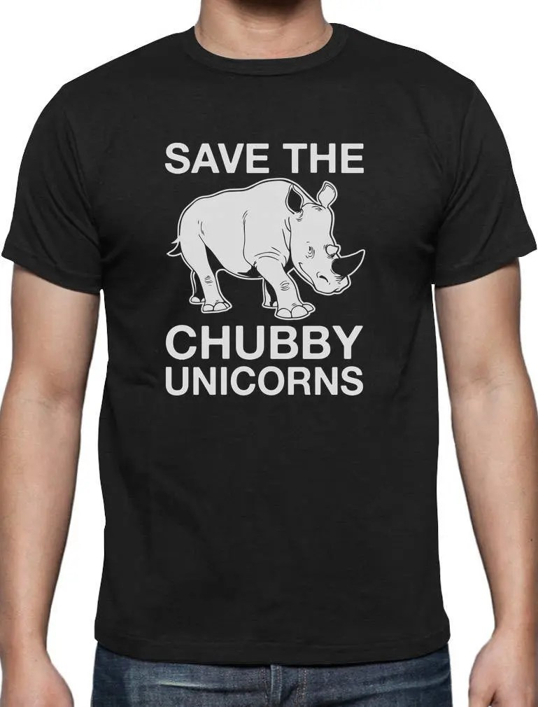 Download Save the Chubby Unicorns Rhino Love Funny SVG Hipster T ...