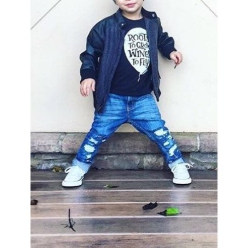 toddler and kids distressed