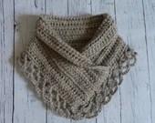 3 colors! Crochet lace ne...