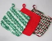 Crochet potholder PDF Pattern Instant Download kitchen gift present