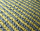 Simply Elegant Crochet baby blanket pattern PDF instant download present gift craft show baby gift shower MI designer