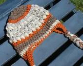Crochet toddler braided e...