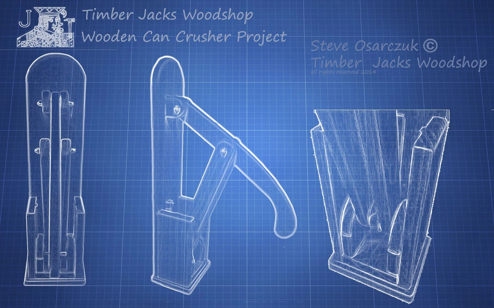 Wooden Can Crusher Plans