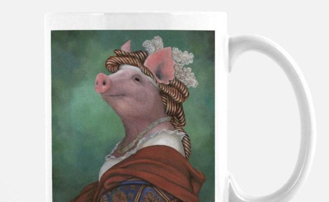 Pig Mug Pig Gifts For Her Kitchen Decor Pig Hilarious Mug
