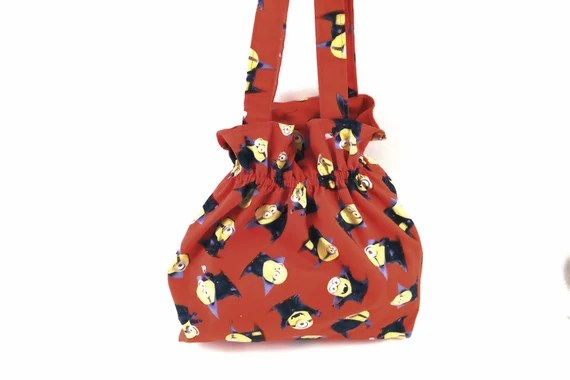 Trick Or Treat Bag Minions Halloween Treat Bag Halloween Etsy