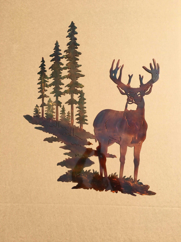 Wildlife Metal Wall Art