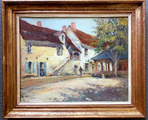 Paul Emile Lecomte Antique L'ecole Des Beaux-arts Paris