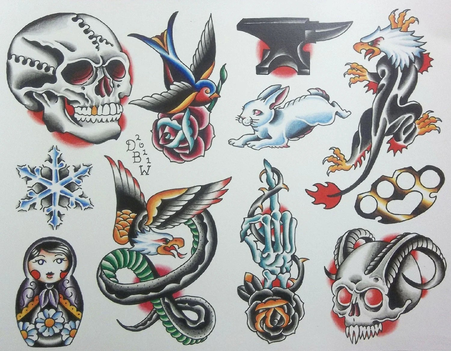 Neo Traditional Tattoos Designs