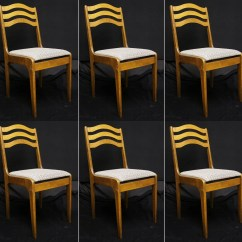 Cafe Chairs Wooden Amazon Eames Chair Etsy Set 6 Vintage Wood Restaurant Bistro Dining Side Fabric Seats