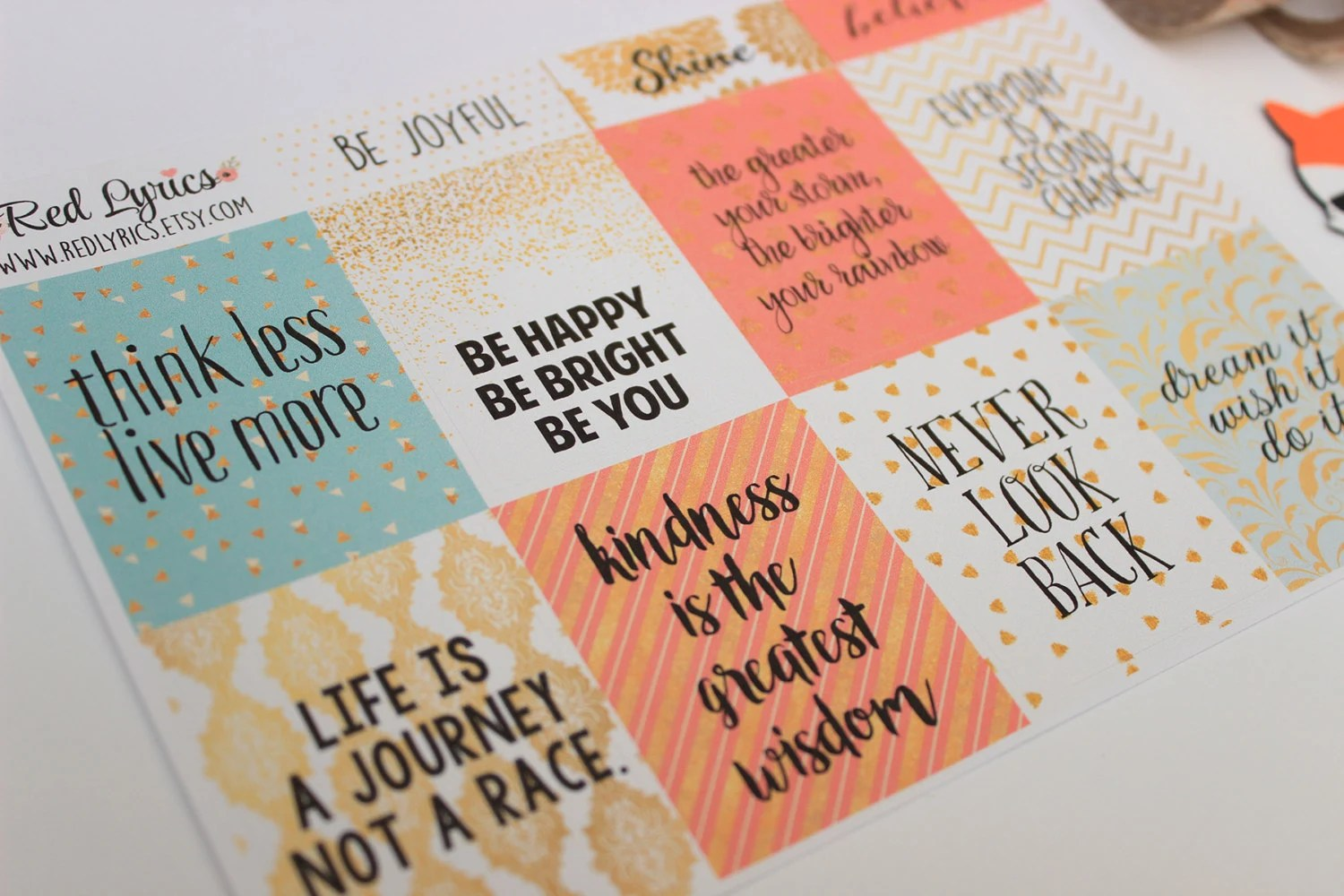 inspirational planner stickers eclp