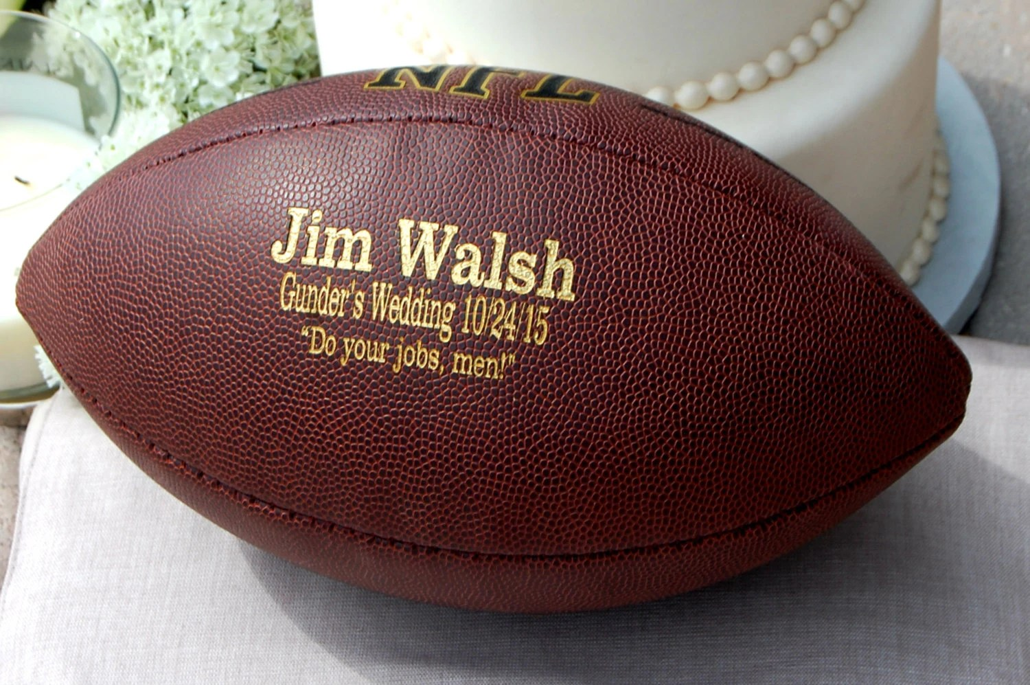 personalized game day football