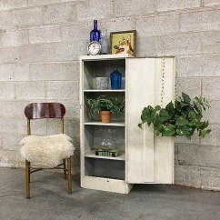 Metal Kitchen Shelf Top Appliances Cabinet Etsy Local Pickup Only Vintage Retro 1960 S Tall White Or Storage Unit With 4 Shelves And Chrome Hardware