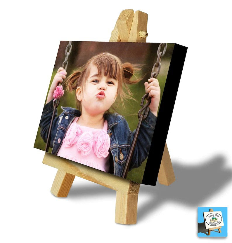 personalised photo printing onto