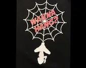 Wanna Hang Female Glitter Workout Shirt