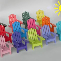 Painted Adirondack Chairs Bookshelf Chair For Sale Etsy Miniature One Fairy Garden Accessories Coastal Beach Wedding Cake Topper Assorted Colors Wooden Craft Supplies