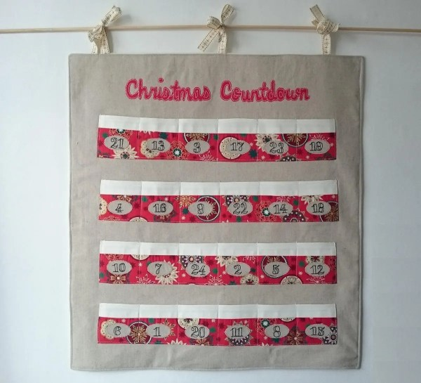 Heirloom Fabric Advent Calendar Reusable Christmas