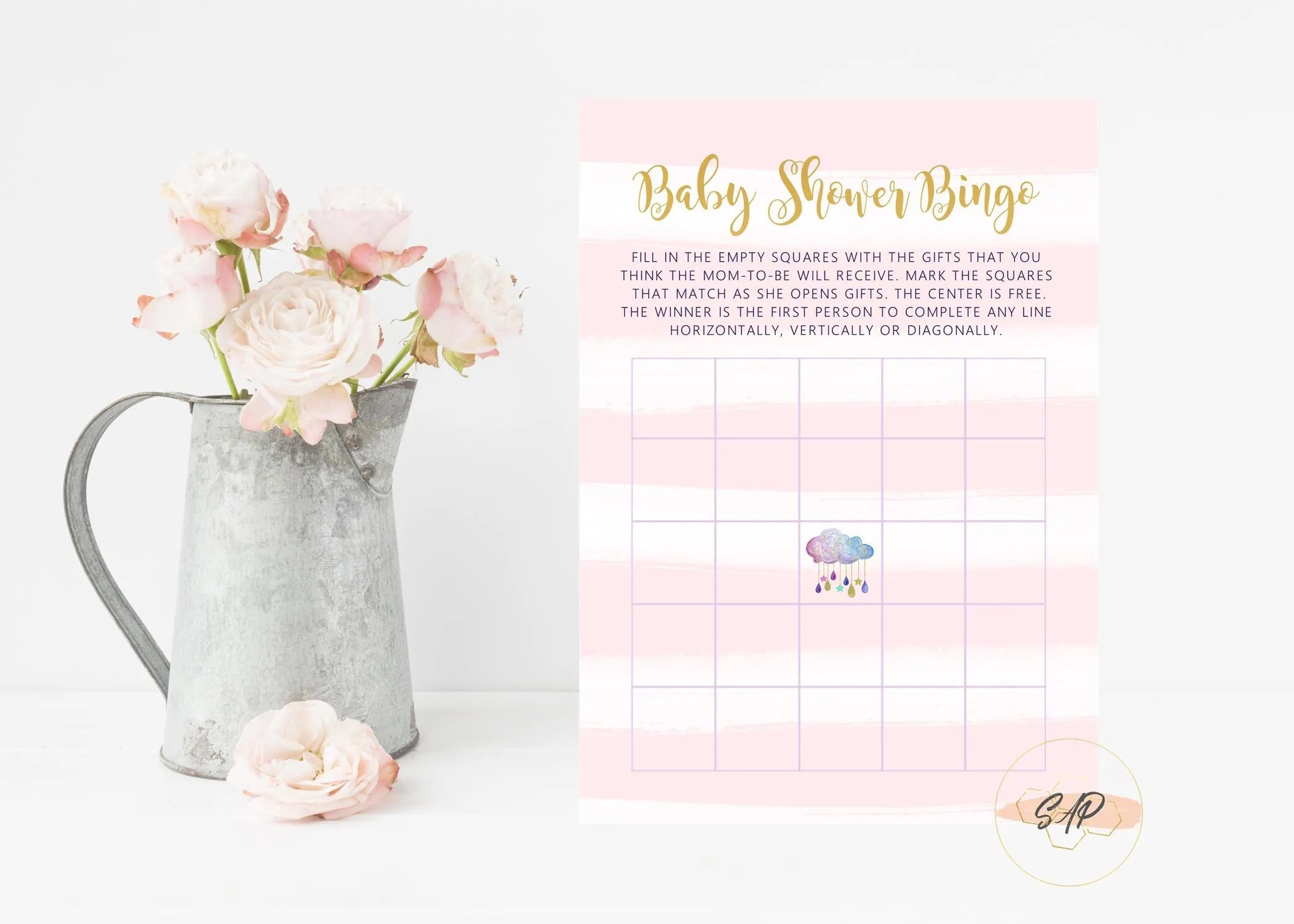 Baby Shower Bingo Cards Baby Shower Bingo Printable Bingo