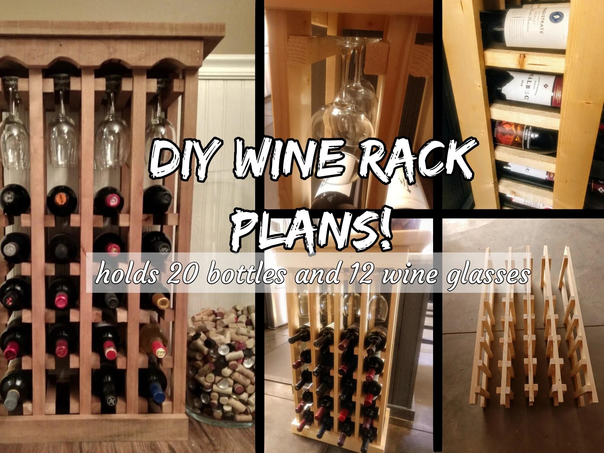 diy wine rack etsy