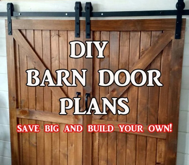 Barn Door Plans - Step By...