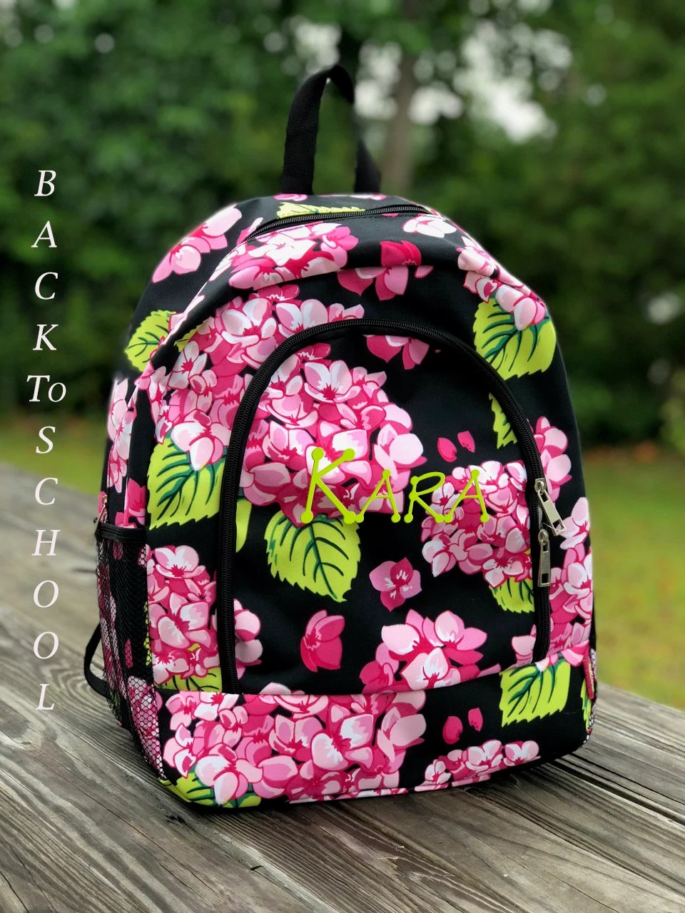 personalized backpack monongram kids