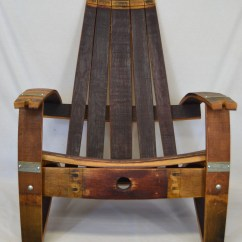Adirondack Wine Barrel Chairs Patterned Wingback Chair With Free Shipping Etsy Image 0