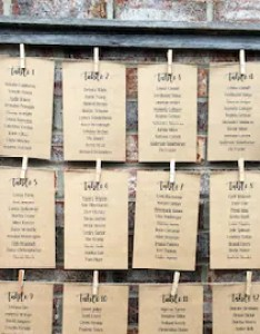 Rustic wedding decor table card holder barnwood frame seating chart number cards set of also etsy rh