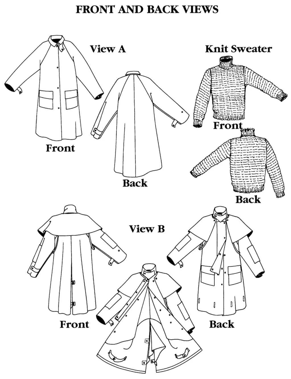 Folkwear Australian Drover's Coat Sewing Pattern #137